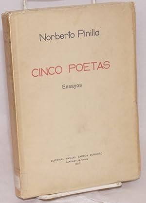 Cinco poetas; Gibr?n Jalil Gibr?n, Julio Vicente Cifuentes, Federico Garc?a Lorca, Carlos Roberto ...