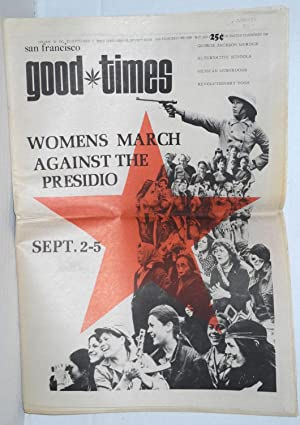 San Francisco Good Times; Vol.IV, no.27, September 3 thru September 16, 1971