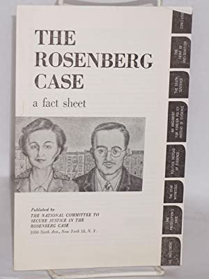 The Rosenberg case; a fact sheet