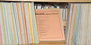 Bulletin in defense of Marxism, no. 1, December, 1983 to no. 131, March-April 1996 Lacking four ...