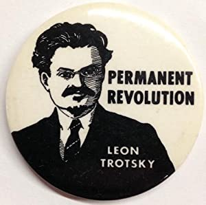 Permanent Revolution / Leon Trotsky [pinback button]: Lyons, Lisa