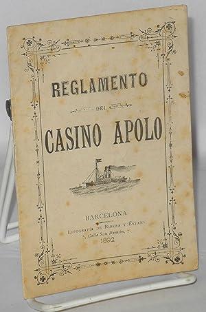 Reglamento del Casino Apolo