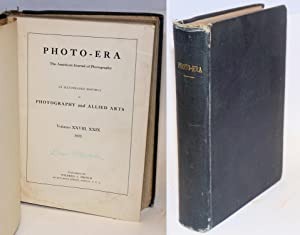 Photo-era; the American journal of photography; volume XXVIII nos. 1 - 6, XXIX nos. 1 - 6, and [...