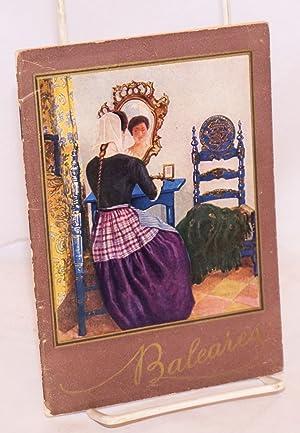 Baleares [cover]. Itinerarios; Servicios de Baleares 1930 [titlepage]