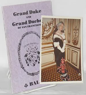 Grand Duke of Grand Duchess of San Francisco ball [Coronation program]