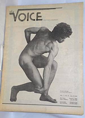 The voice: more than a newspaper; vol. 2, #15, July 18, 1980: Hardman, Paul D., editor, Milton ...
