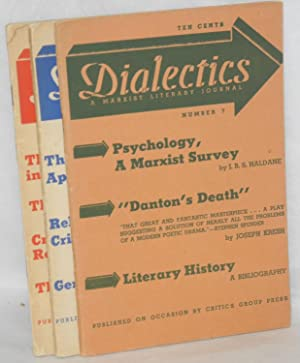 Dialectics, numbers 1-9 [full run]: Critics Group
