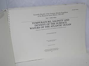 Temperature, Salinity and Density of the Surface Waters of the Atlantic Ocean [Temperatur, ...