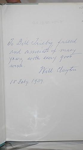 Will Clayton, A Short Biography: Garwood, Ellen Clayton
