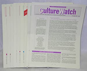 CultureWatch: a monthly annotated bibliography on culture, art, and political affairs: #1 - 35, May...