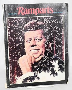 Ramparts volume 5, number 5 November 1966: Hinckle, Warren III, editor