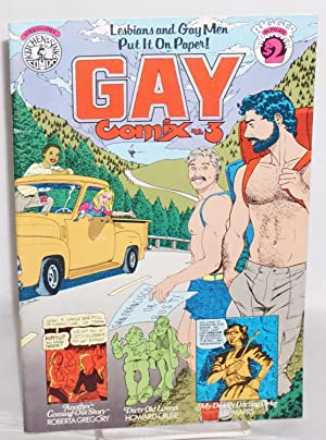 Gay comix; Lesbians and gay men put: Cruse, Howard, editor,