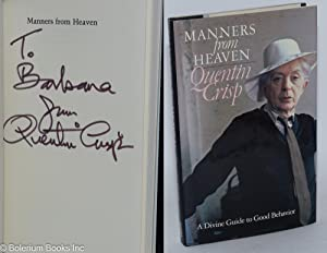 Manners from Heaven; a divine guide to good behaviour