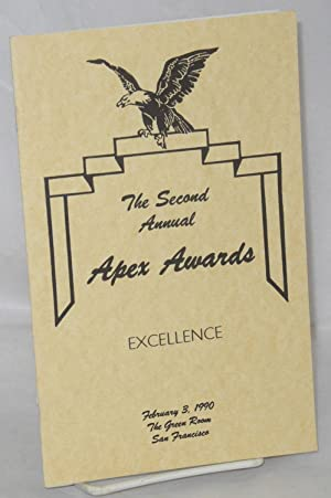 The Second Annual Apex Awards [program] February 3, 1990, the Green Room, San Francisco