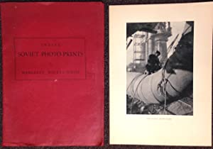 Twelve Soviet photo prints [in red folio, but containing a mixture of twelve prints from the red ...