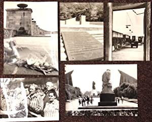 Antifascist memorials in the GDR [five press photographs]