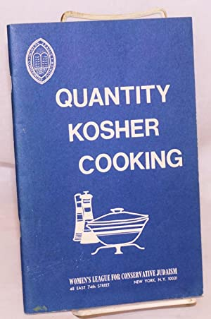 Quantity kosher cooking