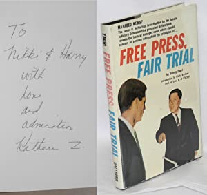 Free press, fair trial. Introduction by Philip Kurland: Zagri, Sidney