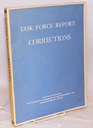 Task Force report: Corrections: Task Force on Corrections