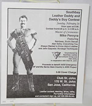 Southbay Leather Daddy and Daddy's Boy Contest