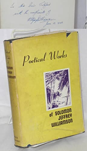 Poetical works of Solomon Jeffrey Williamson