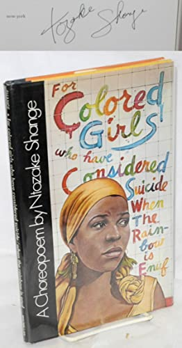 shange - for colored girls considered - Signed - AbeBooks