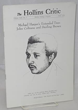 The Hollins Critic: Michael Harper's Extended Tree;: Moore, John Rees,