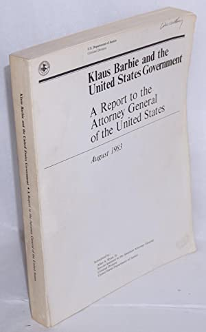 Klaus Barbie and the United States Government: Ryan, Allan J.,