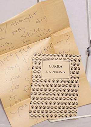 Curios for Marta's Dolls, with a handwritten letter to Paul Mariah
