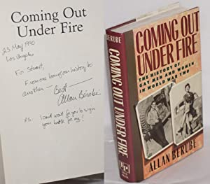 Coming out under fire; the history of gay men and women in World War II [signed]
