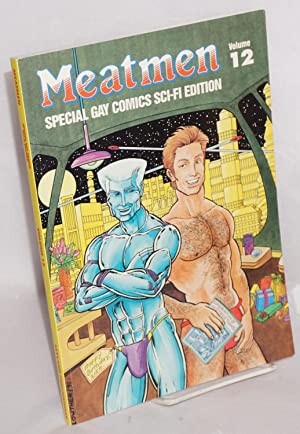 Meatmen; an anthology of gay male comics,: Leyland, Winston, editor,