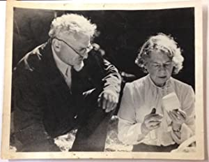 [Photograph of Leon Trotsky and his wife Natalia Sedova]