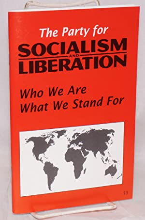 Who we are what we stand for: Party for Socialism