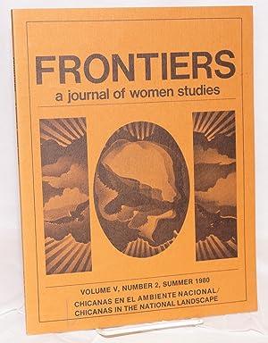 Frontiers: a journal of women studies: vol.: Candelaria, Cordelia, Theresa