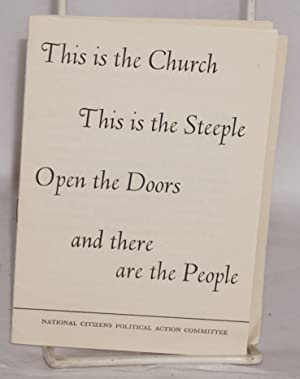 This is the church, this is the steeple, open the doors and there are the people: National Citizens...