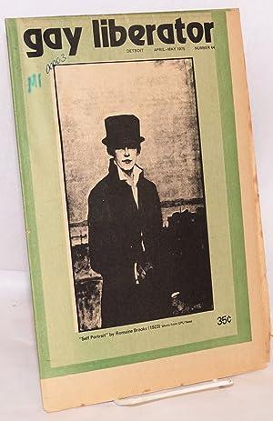 Gay Liberator [aka Detroit Gay liberator] vol.: Young, Allen, Romaine