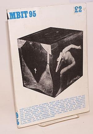 Ambit 95: a quarterly of poems, short: Bax, Martin, J.