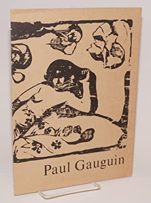 Paul Gaugin: woodcutter and private printer