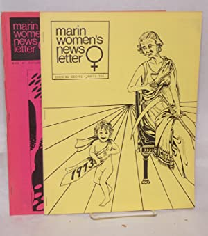 Marin women's newsletter; issue #7 November 1972, issue #8 Dec'72 - Jan'73 [2 items]