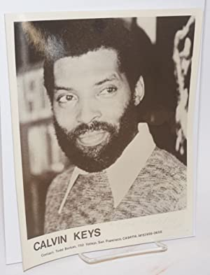 Photograph of Calvin Keys inscribed and signed