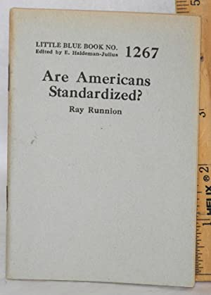 Are Americans standardized: Runnion, Ray