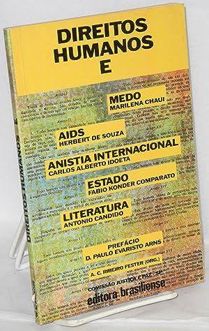 Direitos humanos e .: Candido, Antonio, et.