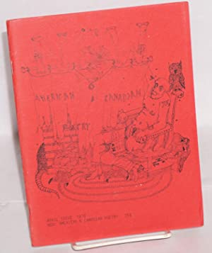 New: American and Canadian Poetry; no. 12,: Gill, John, editor,
