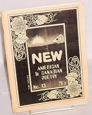 New: American and Canadian Poetry; no. 13, Sept. 1970: Gill, John, editor, alta, Doug Blazek, John ...