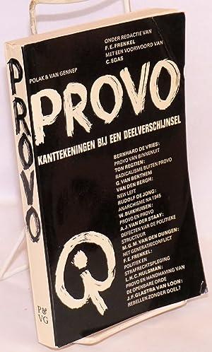Provo. Kanttekeningen bij een deelverschijnsel: Frenkel, F.E., ed