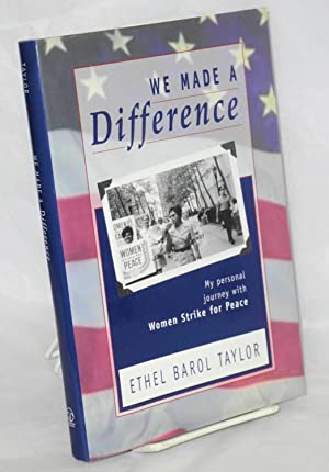 We made a difference; my personal journey: Taylor, Ethel Barol
