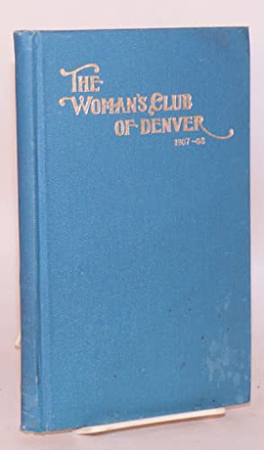 The woman's club of Denver, 1437 Glenarm Place / fourteenth annual announcement / 1907 - 1908 / o...