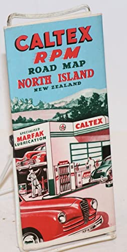 Caltex Power-Chief [aka RPM] Road Map North Island New Zealand
