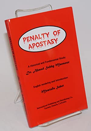 Penalty of Apostasy: a Historical and Fundamental Study