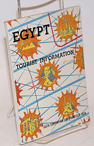 Egypt Tourist Information. ASTA Convention San Francisco 1954 [cover text]. Facts About Egypt, Pr...